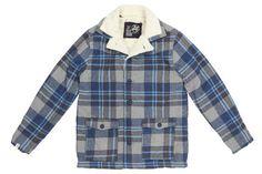 Altamont `Mayfield` Brian Hansen Flannel Jacket (Grey)