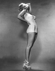 Marilyn Monroe photographed by Nick de Morgoli, 1953.