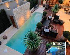 Swimming Pool Designs by Dyson Pools Pty Ltd. love th decking