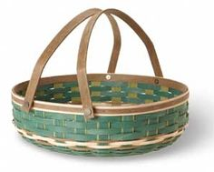 Longaberger's Fern Valley Social Gathering Basket!