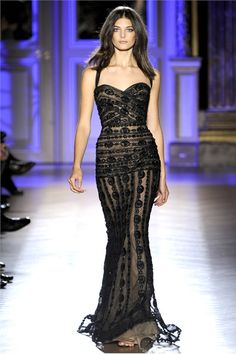 Zuhair Murad, Spring '12    This is absolutely beautiful on her....wish I could look this good!