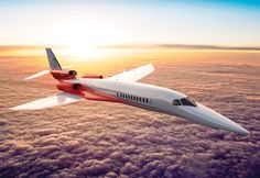 Picture of the Aerion AS2 / SBJ (Supersonic Business Jet) The Aerion SBJ is set to introduce supersonic speeds into mainstream business flying once more.