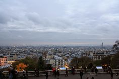The view over Paris from the Scare Coeur cathedral. Check out my travel blog!
