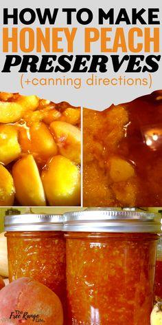 Jelly Recipes, Honey Recipes, Jam Recipes, Canning Recipes, Family Recipes, Brunch Recipes, Cooker Recipes, Dried Peaches, Mascarpone