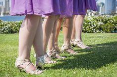 Bridesmaids Shoes @ Coronado Wedding Ceremony