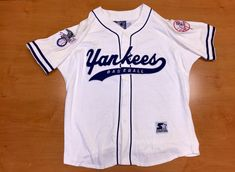 7db001b12 Vintage 90s Yankees Starter Baseball Jersey mariano rivera bernie williams  world series champions joe torre dimaggio david cone wells. New York ...