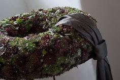 trauerkranz - Google-Suche Cemetery Decorations, Funeral Flowers, Dreadlocks, Wreaths, Hair Styles, Beauty, Google, Art Floral, Advent