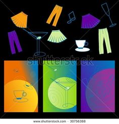 Party icons and labels by ALLERIM, via ShutterStock