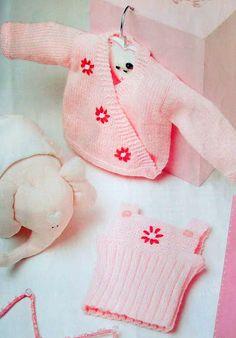 Plena Ajuar del Bebé Nº 14 - Melina Tejidos - Picasa Web Albümleri Patrones  De Suéter 4e8d1e131a0