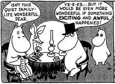 Dolly Dolly Image Blog: Tove Jansson's Moomin comic strips