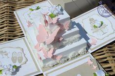 Explosionsbox Zur Hochzeit Mit Torte | Stempel-Villa