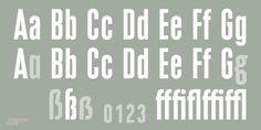 Compressa - Desktop font « MyFonts