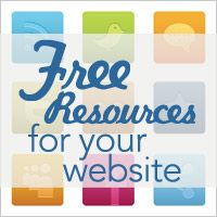 Free Resources to use for your website - icons, stock images, fonts, and more!
