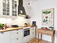 Fresh natural kitchen