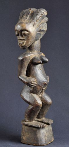 Fétiche Songye Nkisi Congo Fetish Power Figure Africain African Statue Sculpture | eBay