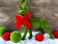 Dekoracja, Świąteczna, Renifer