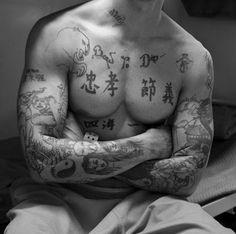 American Prison Tattoos by Robert Gumpert