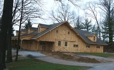 The Gable End Of A Customized Barn Pros Denali Series Barn