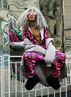 Milex X - Sojosvision Sunglasses, Badinka Jumpsuit, Sammydress Jacket - BADINKA