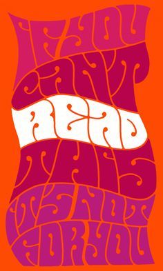 psychedelic font - Google Search