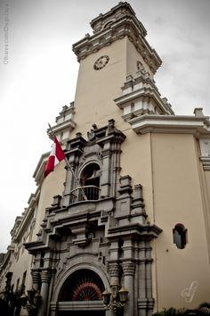 Miraflores - Lima, Peru -   Wohl das Rathaus, nahe beim Büro unseres Reiseveranstalters