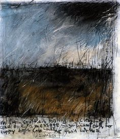 Too dark? I don't know. I really like it. The textures and the text, the stormy skies... GUNTER LUDWIG