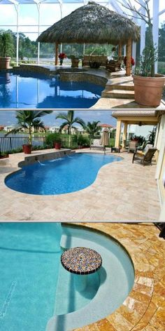 This state-licensed pool contractor specializes in custom-built pools, spas, and rock and raised-wall waterfalls. They also offer marble pavers, innovative lighting systems, and more.