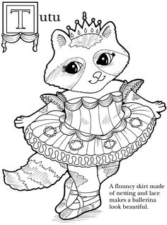 95 Coloring Pages Dancing Animals