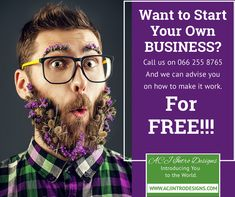 Want to start your own Business?