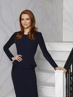 Scandal - Season 4 - Cast Promotional Photo - Darby Stanchfield as Abby