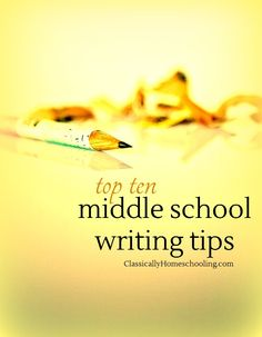 teaching essay writing in middle school