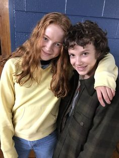 Stranger Things Max with Eleven