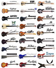 Bass Guitar Purple Plays Guitar Lessons How To Watches Key: 6217864987 Ukulele, Bass Guitar Chords, Fender Bass Guitar, Yamaha Guitar, Guitar Chord Chart, Bass Guitar Lessons, Guitar Strings, Music Guitar, Cool Guitar