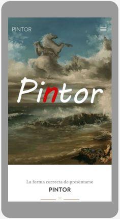 Awwwards Nominees Pintor – Bootstrap buen WEBSITE PARA VOS! – SYP BLOG
