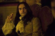George Blagden as King Louis XIV
