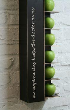 Die tägliche Portion Vitamin und Design Für: Küche, Wartezimmer, Frühstücksbüffet...  Dass ein knackiger Apfel gesund ist, gut schmeckt und den ...