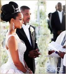 Flower Dresses Monique Nikki S Texas Wedding Featured In Essence Magazine Weddings Pinterest And
