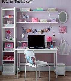Crie um ambiente profissional e organizado em casa