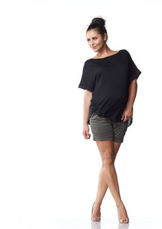 Florin Jersey Top | Maternity Wear & Maternity Clothes Online Australia | Soon Maternity