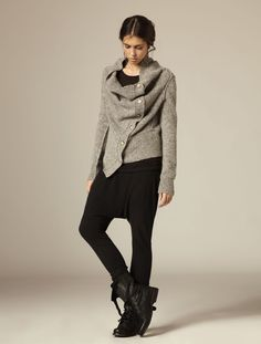 All Saints.  Knit the look::@cocoknitsjulie pattern Ardyth