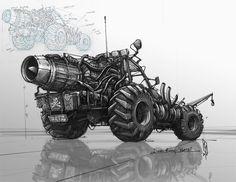Fury Fartz Supra Dune Buggy , Shane Molina on ArtStation at https://www.artstation.com/artwork/fury-fartz-supra-dune-buggy