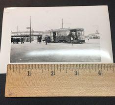 1939 New York Worlds Fair Trolley Flushing Ridgewood Car Photograph 6050