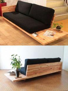 Diy Furniture Chair, Diy Sofa, Living Furniture, Home Decor Furniture, Furniture Projects, Diy Home Decor, Furniture Design, Room Decor, Living Room Sofa Design