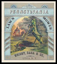 1903 USA LAWN MOWER PENNSYLVANIA