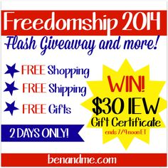 Flash Giveaway - $30 @IEW Gift Certificate, plus free shipping through July 10 ! #homeschool #giveaways