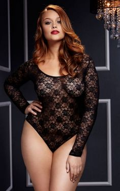 38fdcdbee5 The Hadley Teddy features all over black lace and full length sleeves. Sexy  open back is fun and flirty. Queen size fits Elegant all over lace Long  sleeves ...