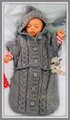 d7bf9b812 24 Best Baby Cocoons - Knitting and Crochet Patterns images ...