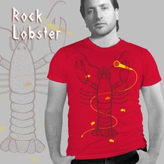 Rock on, Mr. Rock Lobster, Crab Shack, Maine, Classic, Mens Tops, Derby, Classical Music