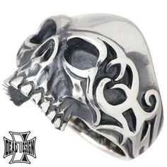 Rakuten: Tribe scull silver ring / skeleton / ring /7 - 23 lapping free of charge- Shopping Japanese products from Japan