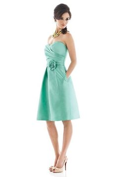 Alfred Sung D498 Bridesmaid Dress | Weddington Way